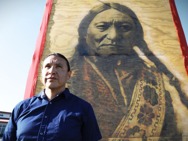 Lakota Chief Chase Iron Eyes