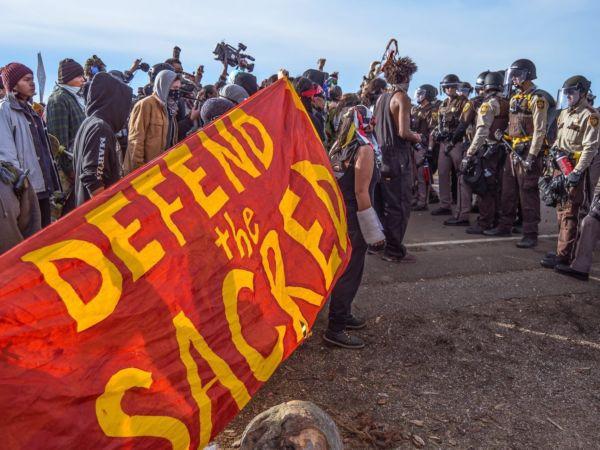standing rock banner