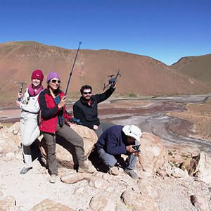 SETI expedition to Chile