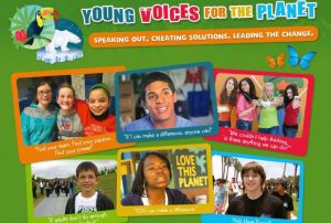 Young Voices for the Planet post card